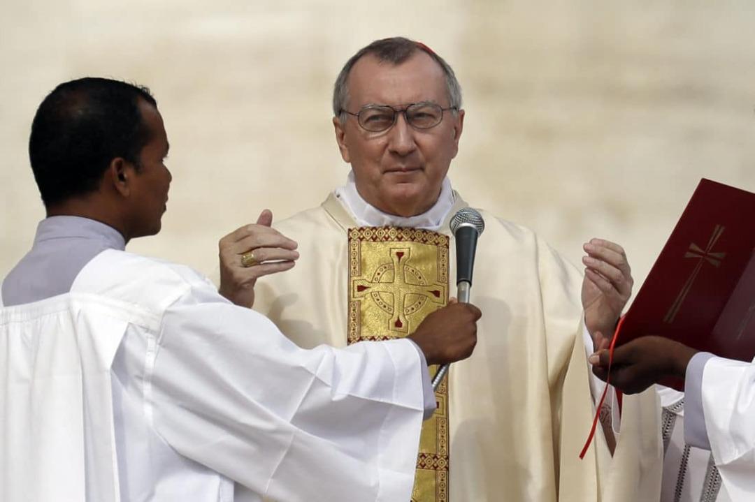 Le cardinal Pietro Parolin, secrétaire d'Etat du Saint-Siège